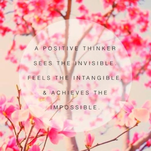 3 Reasons Why You Should Be a Positive Thinkerr